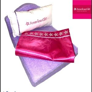 American Girl doll hotel fold up bed set